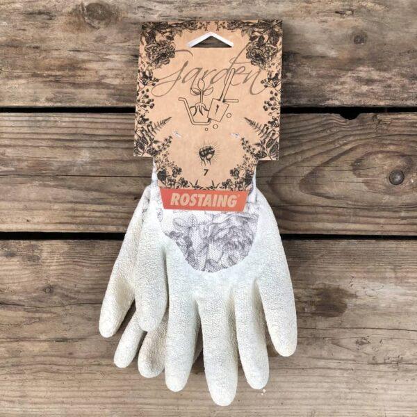 gants fleurs