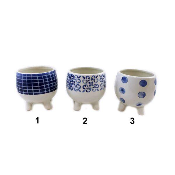Pot en céramique sur pattes